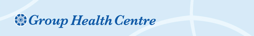 view the Group Health Centre main page